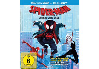 Spider-Man: A new Universe 3D Blu-ray (+2D)