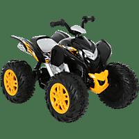 ROLLPLAY POWERSPORT ATV, 12V Elektrofahrzeug für Kinder Schwarz