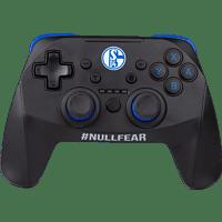SNAKEBYTE FC Schalke 04 S04 NSW-Wireless Pro-Controller, Schwarz/Blau
