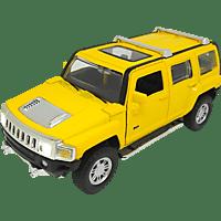 JAMARA KIDS Street Kings Hummer H3 Diecast 1:32 gelb Kinderspielsachen, Gelb