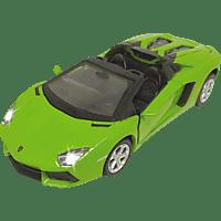 JAMARA KIDS Street Kings Lamborghini Aventador LP700-4 Roadster Diecast 1:32 grün Kinderspielsachen, Grün