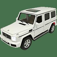 JAMARA KIDS Street Kings Mercedes-Benz G350 Diecast 1:32 weiß Kinderspielsachen, Weiß