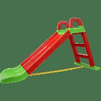 JAMARA KIDS Rutsche Funny Slide rot Outdoor Spielwaren, Rot/Grün
