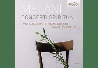 I Musici Del Gran Princiepe, Samuele Lastrucci - Melani:Concerti Spirituali  - (CD)