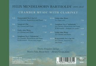 Dario Zingales, Alexey Grots, Marco Sala - Mendelssohn:Chamber Music With Clarinet  - (CD)