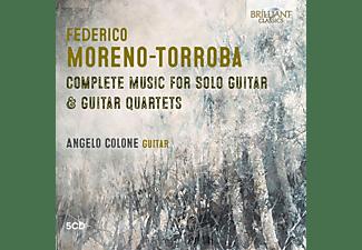 Angelo Colone - Moreno-Torroba:Complete Music For Solo  - (CD)