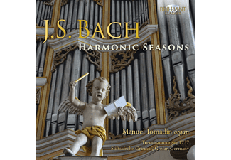 Manuel Tomadin - J.S.Bach:Harmonic Seasons  - (CD)