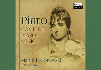 Marek Toporowski - Pinto:Complete Piano Music  - (CD)