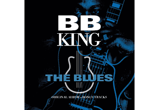 B.B. King - The Blues-Original Album  (transparent blau/gold  - (Vinyl)