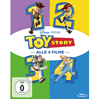 Toy Story 1-4 (4 Movie Coll.) [Blu-ray]