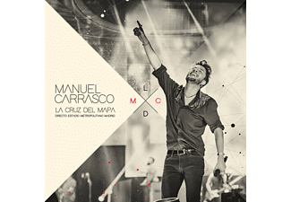 Manuel Carrasco - La Cruz del Mapa - Directo Estadio Metropolitano Madrid - CD + DVD