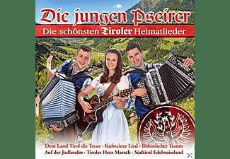 Die Jungen Pseirer - Die schönsten Tiroler Heimatlieder  - (CD)