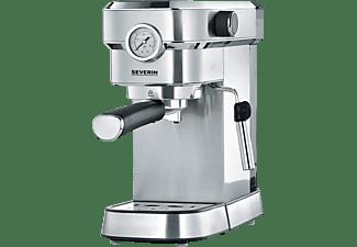 SEVERIN KA 5995 Espresa Plus Espressomaschine Edelstahl-geb./Schwarz