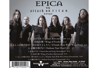 Epica - EPICA VS ATTACK ON..  - (CD)