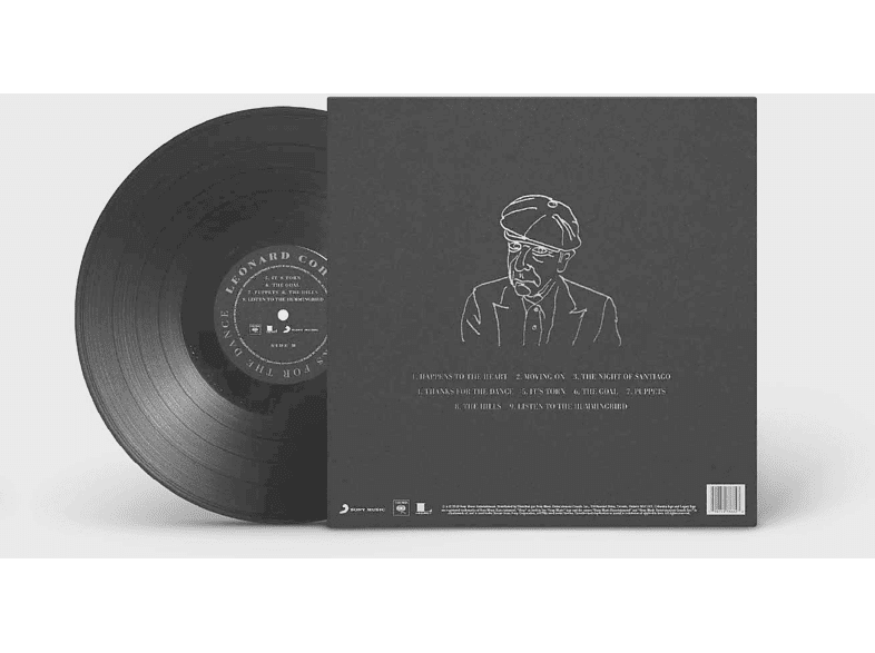 Leonard Cohen Thanks For The Dance Vinyl