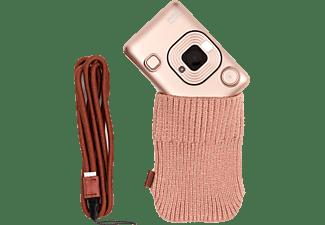FUJI Instax Mini LiPlay Gold Blush Bundle