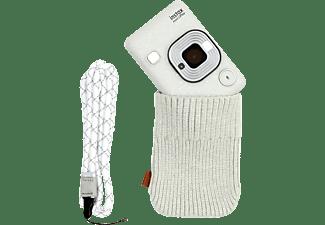 FUJI Instax Mini LiPlay Stone white Bundle