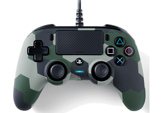 NACON Nacon Wired Compact Controller - Camo Green - Gamepad - Sony Playstation 4