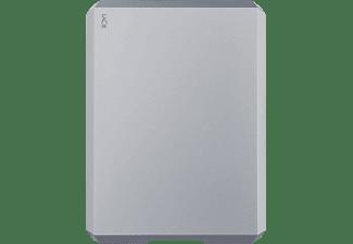 LACIE Mobile Drive USB-C, 2 TB HDD, 2,5 Zoll, extern, Weltraum-Grau