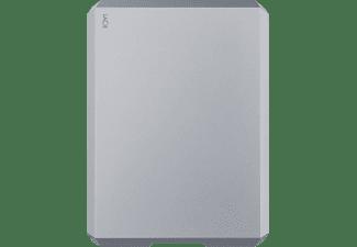 LACIE Mobile Drive USB-C, 5 TB HDD, 2,5 Zoll, extern, Weltraum-Grau