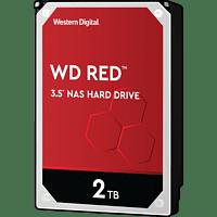 WD Red™ NAS-Festplatte 2 TB, BULK, 2 TB, HDD, 3,5 Zoll, intern
