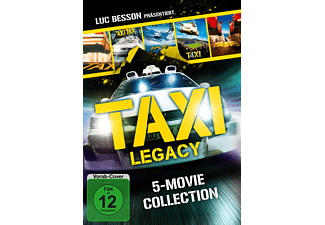 Taxi Legacy-5 Movie Collection DVD