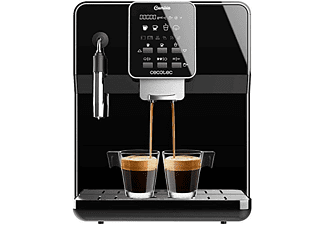 Cafetera megautomática -  Cecotec Power Matic-ccino 6000 Serie Nera, 19 Bares, Pantalla LCD, Negro
