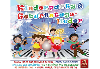VARIOUS - Kinderparty & Geburtstagslieder  - (CD)