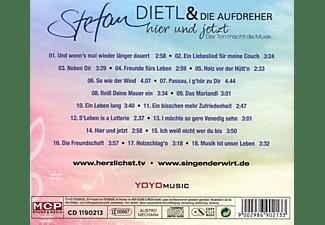 Stefan & Die Aufdreher Dietl - Hier und jetzt  - (CD)