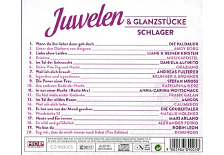 VARIOUS - Juwelen & Glanzstücke-Schlager  - (CD)