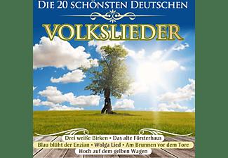 VARIOUS - Die 20 Schönsten Deutschen Volkslieder  - (CD)
