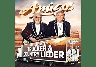 Die Amigos - Ihre schönsten Trucker-& Country-Lieder  - (CD)