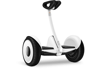 Hoverboard - Xiaomi Ninebot S Mini, 700 W, 16 km/h, Autonomía 22 km, Bluetooth, IP54, Blanco