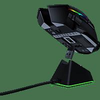 RAZER Basilisk Ultimate und Mouse Dock Wireless Gaming Maus, Schwarz