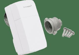 HOMEMATIC IP Funk-Heizkörperthermostat, weiß + Herz Adapter (M28 x 1.5)