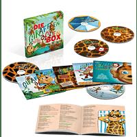 VARIOUS - Die Giraffenaffen Box - 5 CDs mit Songs und Texten - [CD]