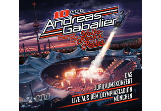 Andreas Gabalier Best of Volks-Rock'n'Roller - Das Jubiläumskonzert CD