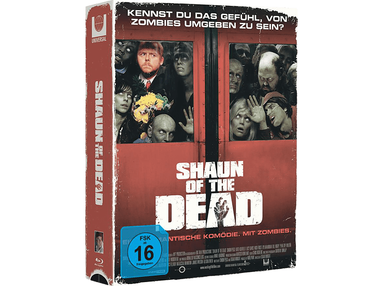 Shaun Of The Dead Exlusive Edition [Blu-ray]