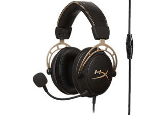 HYPERX Cloud Alpha Gold Edition - Limited - Casque de jeu (Or/Noir)