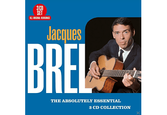 Jacques Brel - Absolutely Essential  - (CD)