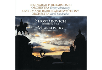 Dimitri Dmitrijevich Shostakovich - Sinfonie 5 in D/Sinfonie 15  - (CD)