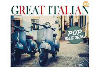 VARIOUS - Great Italian Pop Memories  - (CD)