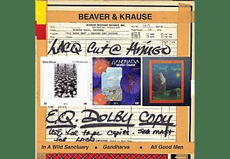 Beaver&krause - In A Wild Sanctuary/Gandharva/All Good Men  - (CD)