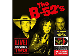 The B-52's - Live At Rock'n Rockets  - (Vinyl)