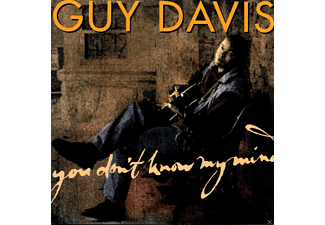 Guy Davis - YOU DON'T KNOW MY MIND  - (CD)