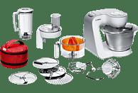 BOSCH MUM54W41 Küchenmaschine Weiß/Silber 900 Watt