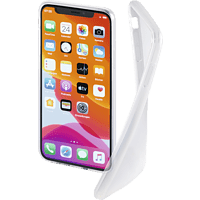 HAMA Crystal Clear , Backcover, Apple, iPhone 11, Thermoplastisches Polyurethan, Transparent