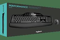 LOGITECH MK710, Tastatur-Maus Set, Schwarz/Anthrazit