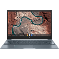 HP Chromebook 15-de0310ng, Chromebook mit 15,6 Zoll Display, Core™ i3 Prozessor, 8 GB RAM, 128 GB eMMC, Intel® UHD Graphics 620, Weiß