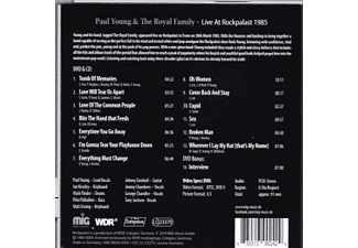 Paul Young & The Royal Family - Live at Rockpalast 1985  - (CD + DVD Video)